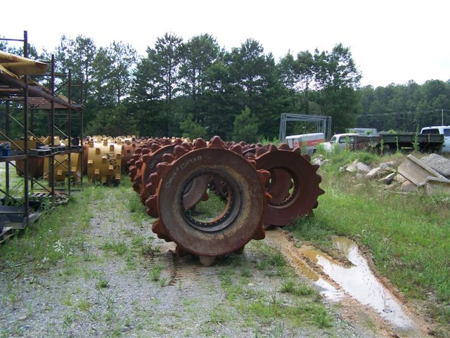 Aljon Landfill Compactors : Used compaction wheels for caterpillar bomag al jon and